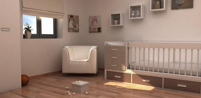 Habitación Render 3D Infografía