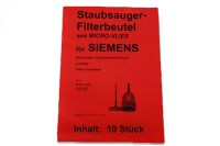 Gnstige Staubsaugerbeutel Siemens, Bosch u.a. - Ersatz ...