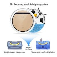 ILIFE V5sPro automatischer Staubsauger Roboter Test und ...