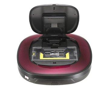 LG - CE VR 64701 LVMP Roboterstaubsauger (Dual Eye 2.0, Smart Turbo Modus) dunkel rot/schwarz - 5