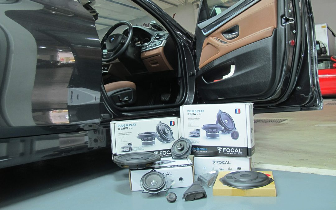 BMW Speakers Upgrade by Focal