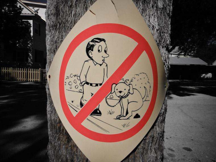 Doggie Doo Doo Sign