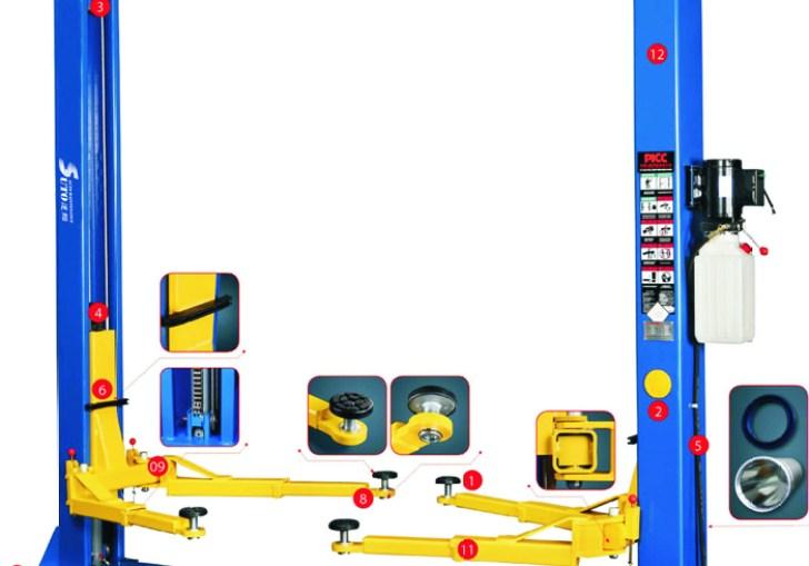 Auto Lifts 2 Post