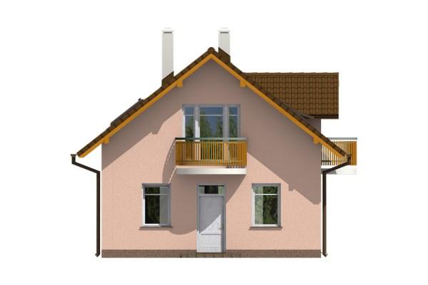 Projekt domu - Aktual 029
