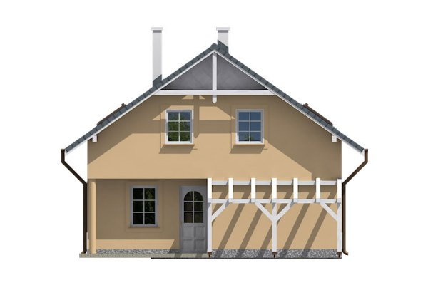 Projekt domu - Aktual 036