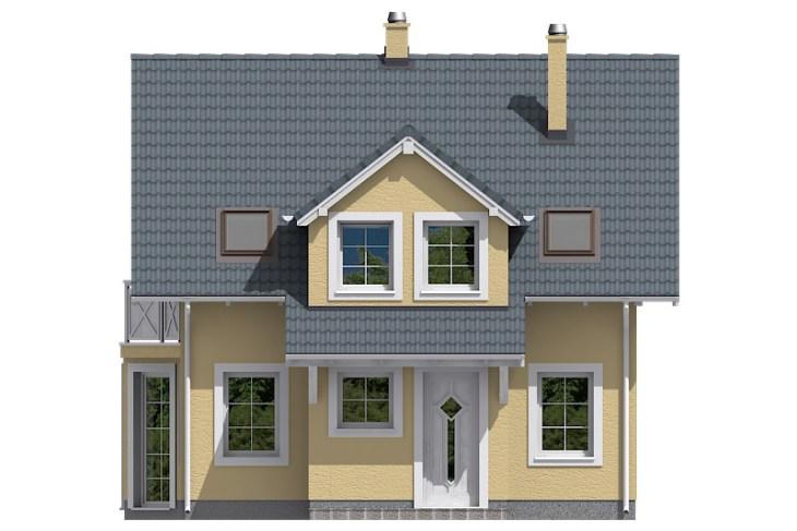 Projekt domu - Aktual 030