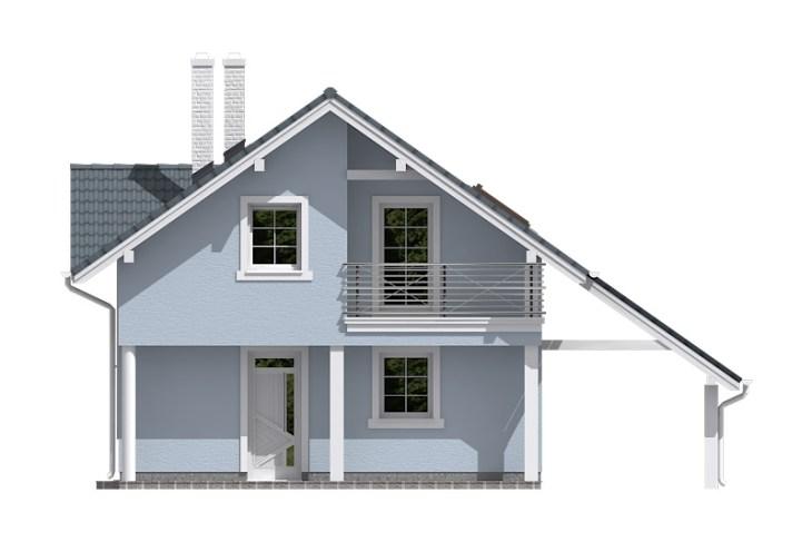 Projekt domu - Aktual 027