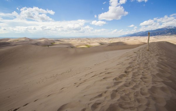 Hiking Star Dune and High Dune in Great Sand Dunes