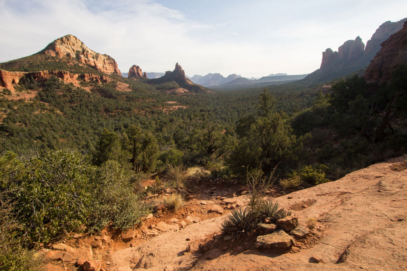 Hiking Soldier Pass and Brins Mesa Loop in Coconino National Forest Arizona