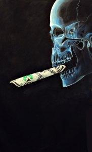 smoking-skull