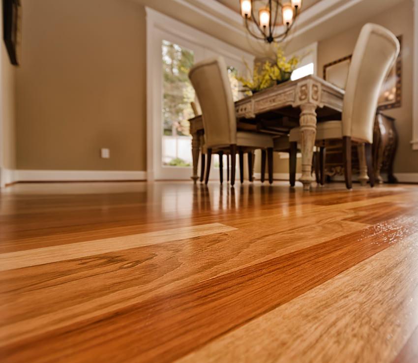 4 Simple Steps for Shiny Hardwood Floors