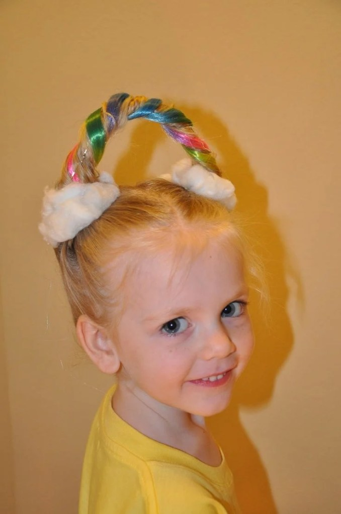 30 ideas for crazy hair day at school - stay at home mum