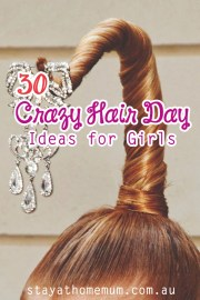 crazy hair day ideas girls