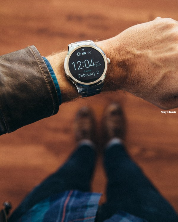The Fossil Q Founder Smart Watch - Stay Classic