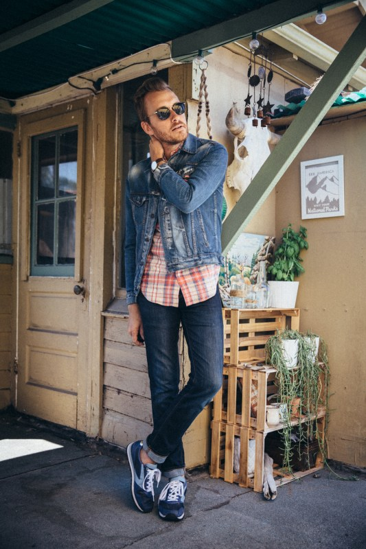 A Plaid Shirt and Sneakers Three Ways - Stay Classic