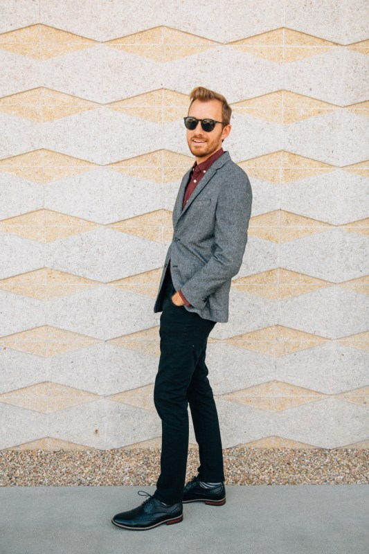 Semi-Formal Holiday Outfit - Stay Classic