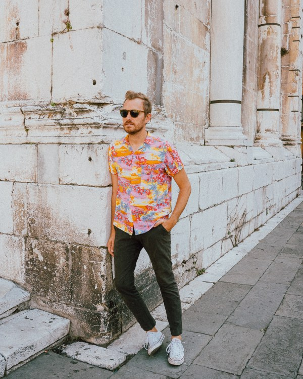 Vintage Italian Aloha Shirt - Stay Classic
