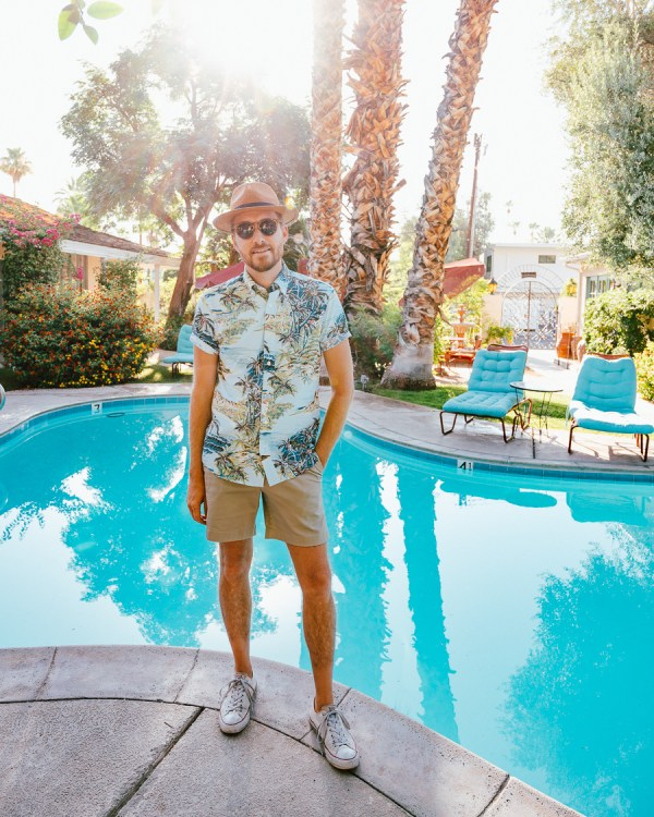 Shorts? Only in Palm Springs - Stay Classic