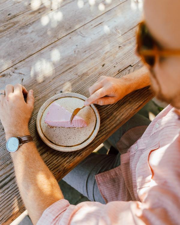 Vegan Raw Gluten Free Strawberry Cheesecake Recipe