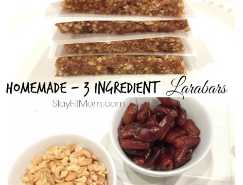 3 Ingredient Larabars are a healthy snack for the whole family to enjoy!