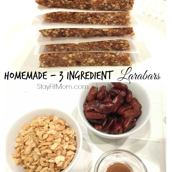3 Ingredient Larabars