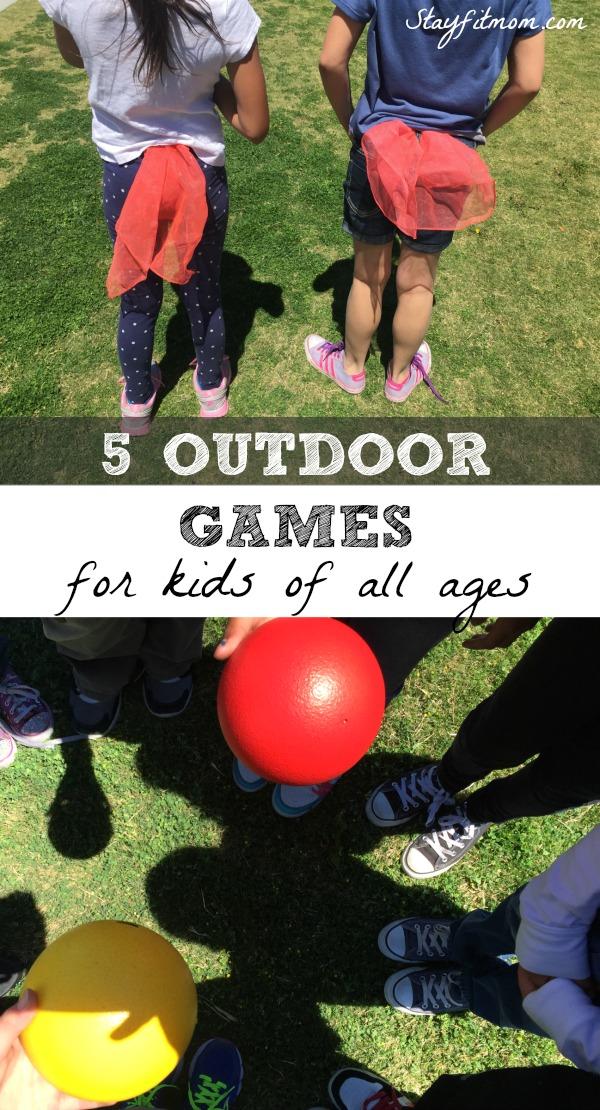 Best Outdoor Games Children