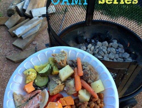 Easy, delicious, tin foil dinners perfect for camping!