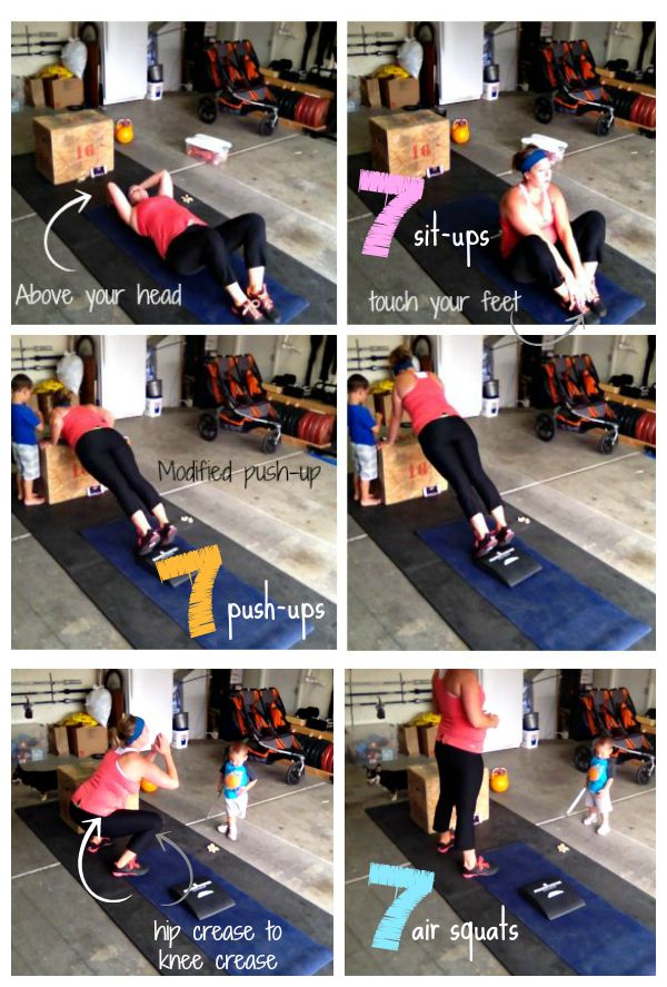 I love these workouts I can do at home with my kids around!