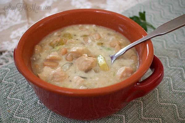You can't go wrong with this healthy white chili! We make this several times every Fall/Winter.