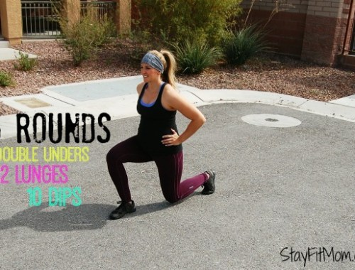 Perfect at home CrossFit Workout for anybody even the pregnant mama!