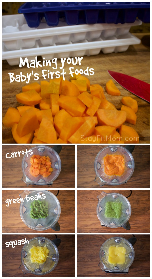 Why You Should Be Making Your Own Baby Food Stay Fit Mom