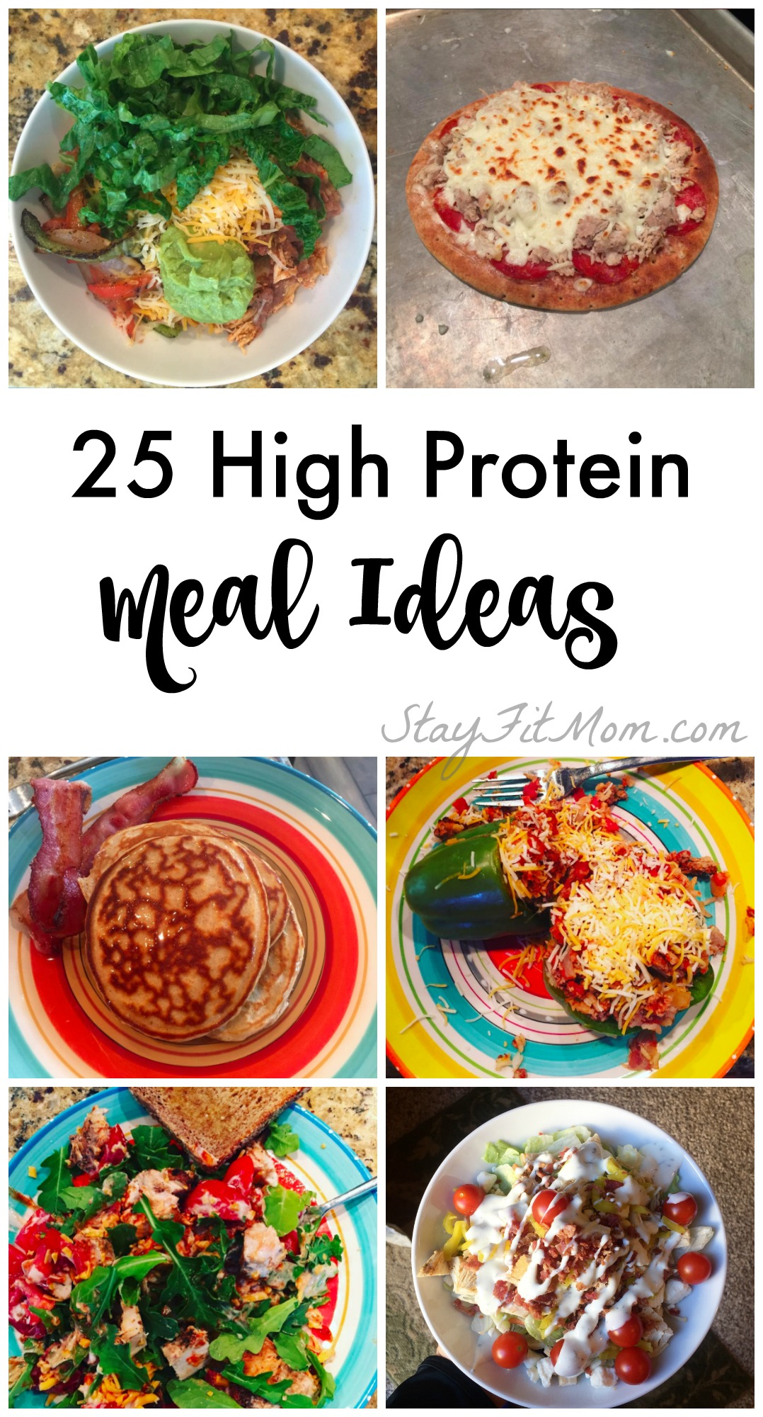 25 easy high protein meal ideas stay fit mom stay fit mom make macro counting so easy with so many ideas for high protein meals forumfinder Choice Image