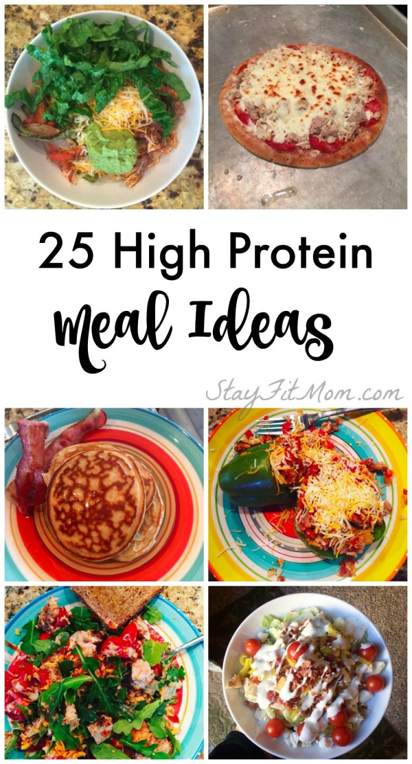 Stay Fit Mom make Macro Counting so easy with so many ideas for high protein meals.