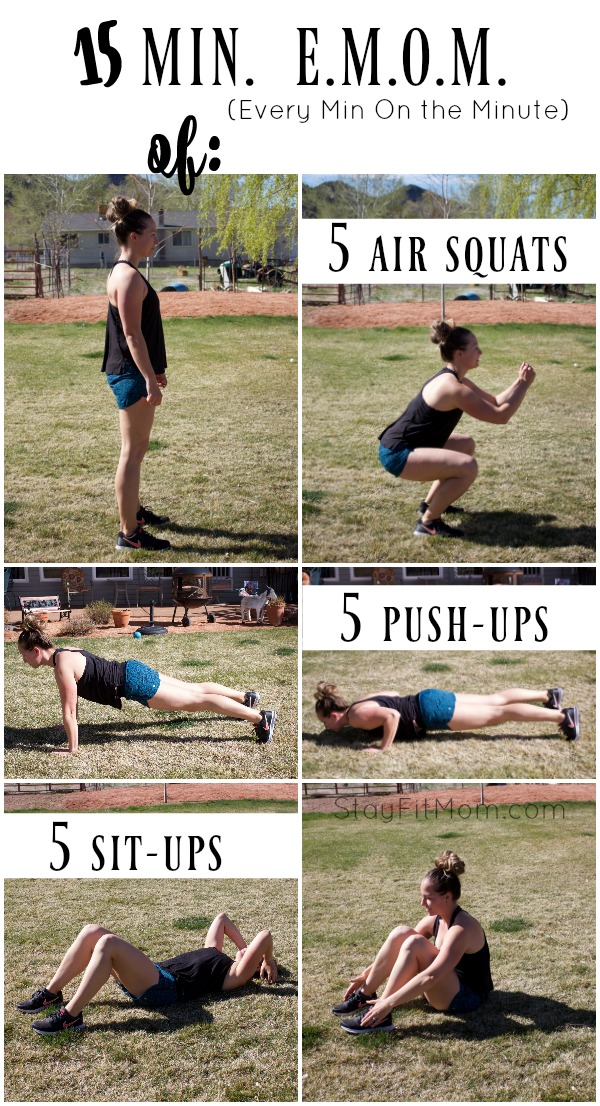 great workout to do when you have no equipment!