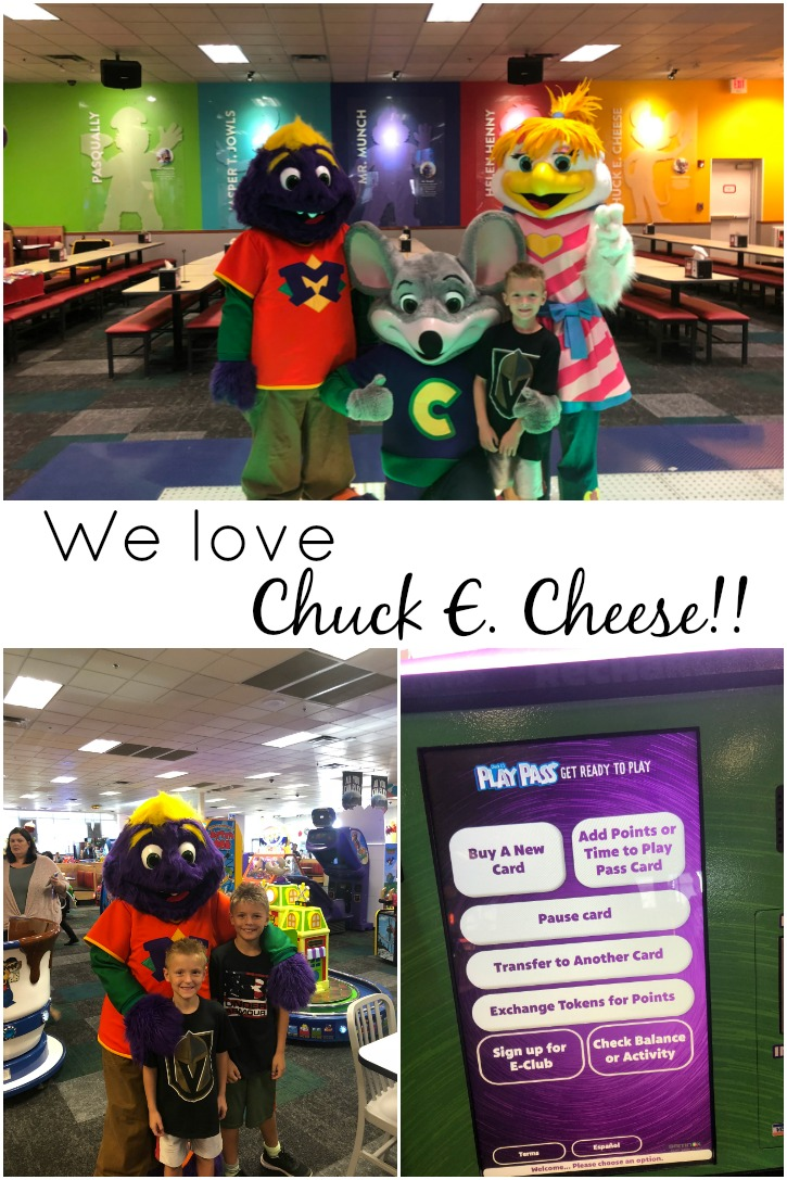 Chuck E Cheese's is a mom's best friend!