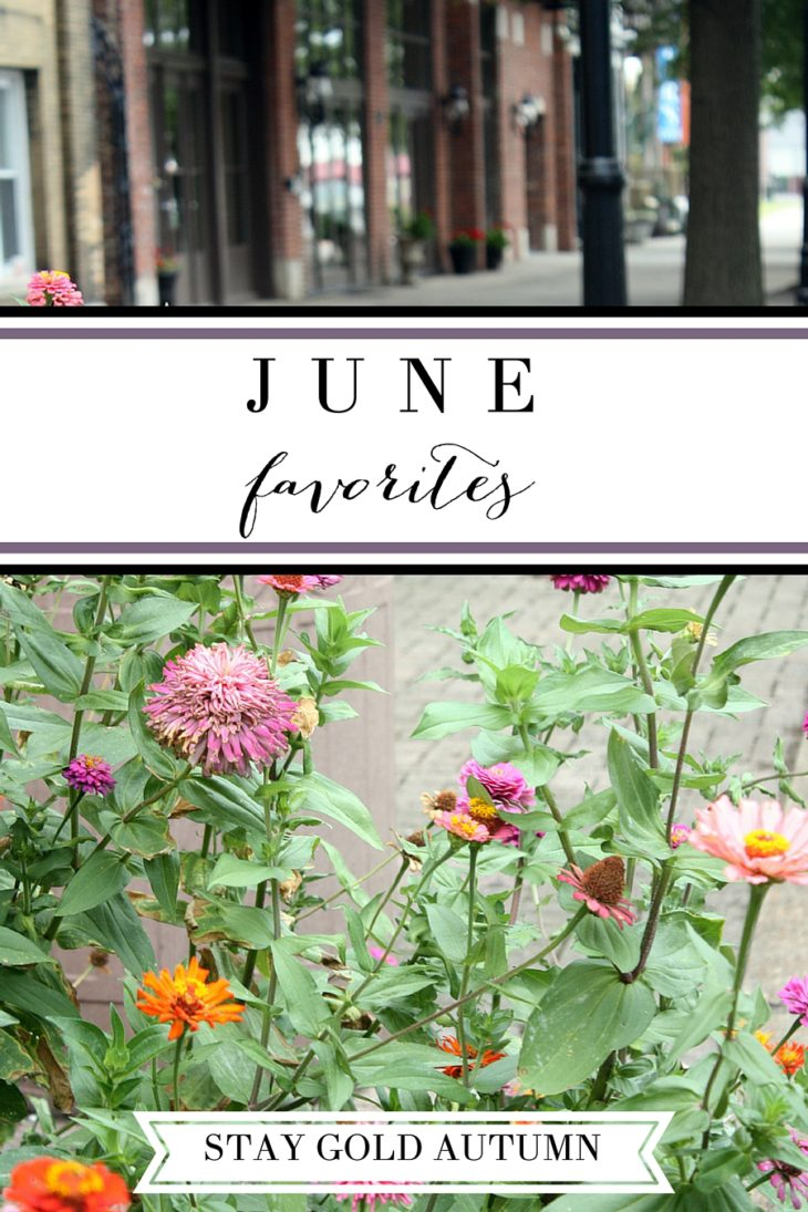 June favorites: my favorite ... | Stay gold Autumn
