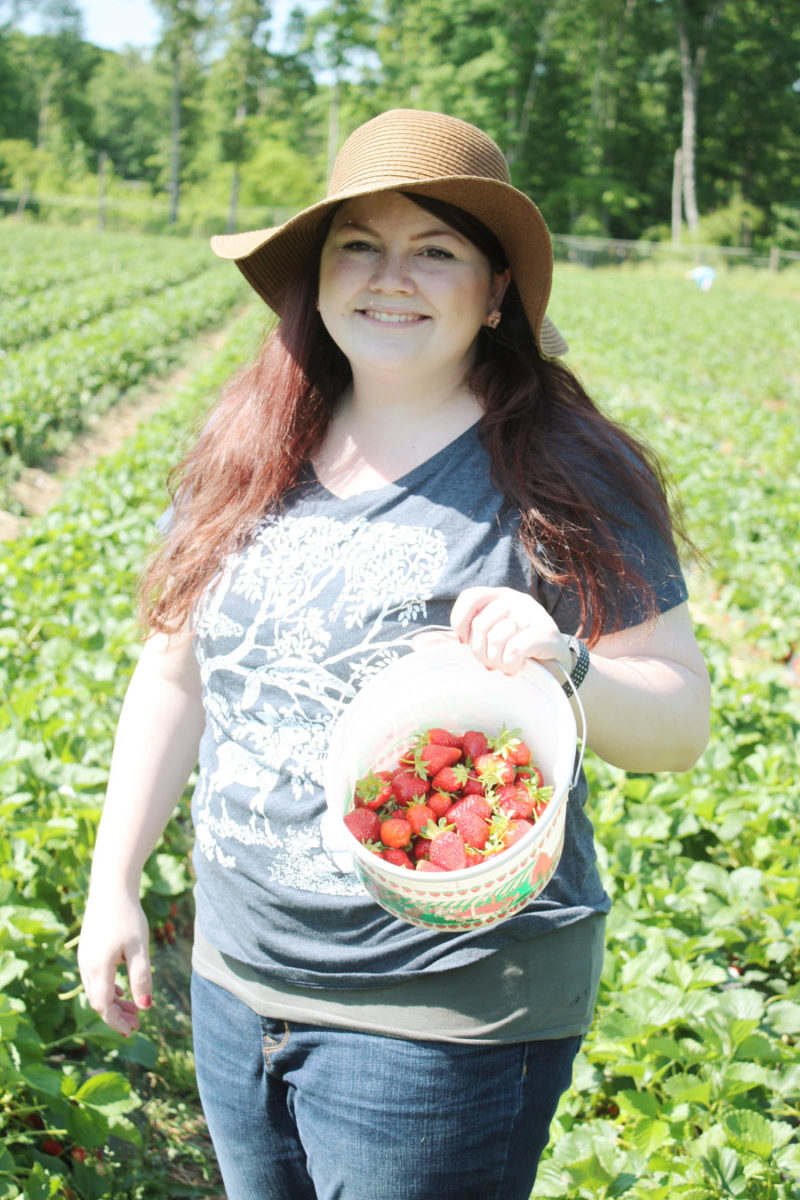 We went strawberry picking! | Stay gold Autumn