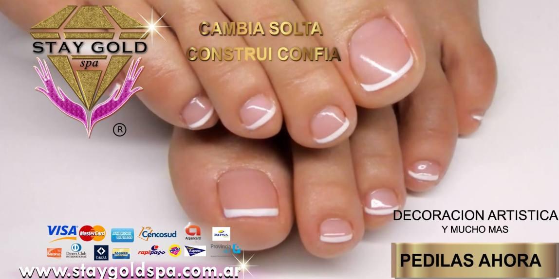 mini french nails