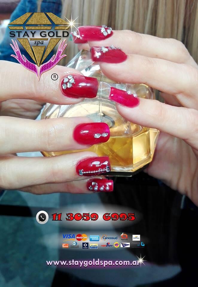 Uñas Decoradas strawberries nails