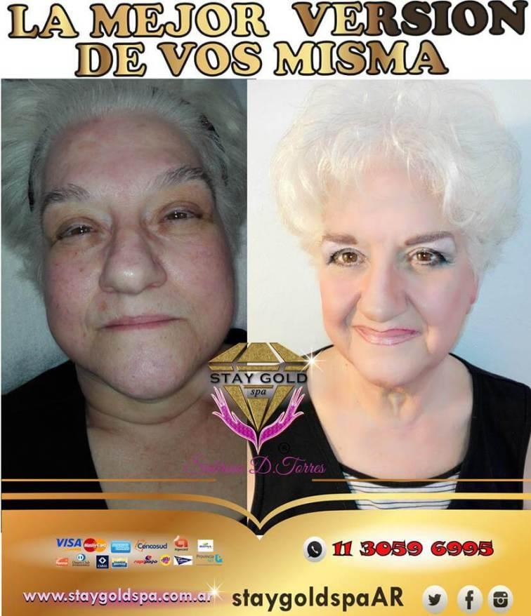 Maquillaje y Cambio de look Stay Gold Spa AR