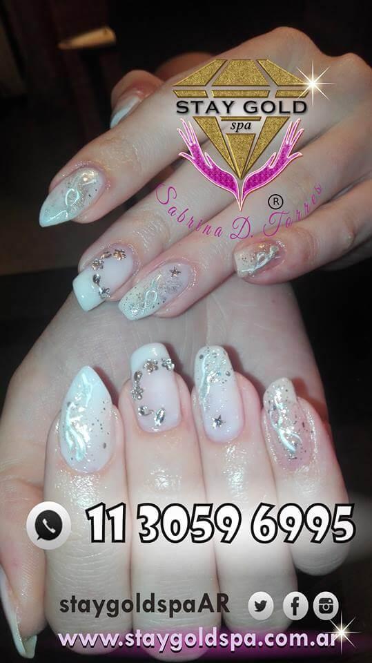 nail art model tutti form for brides 03