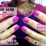 esmaltado semipermanente liso promo stay gold spa