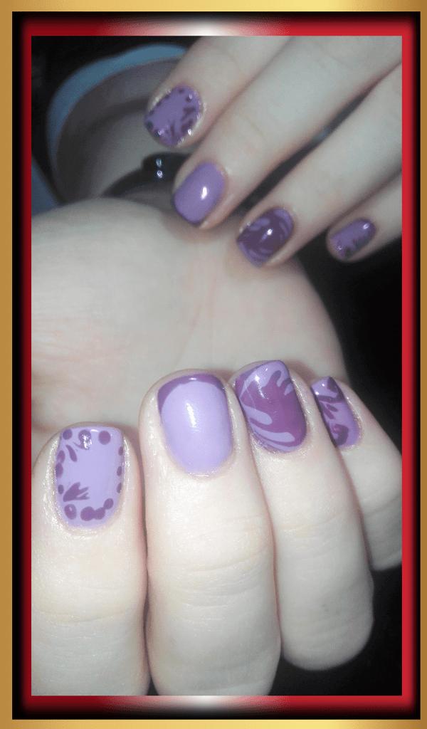 esmaltado semipermanente en uñas cortas