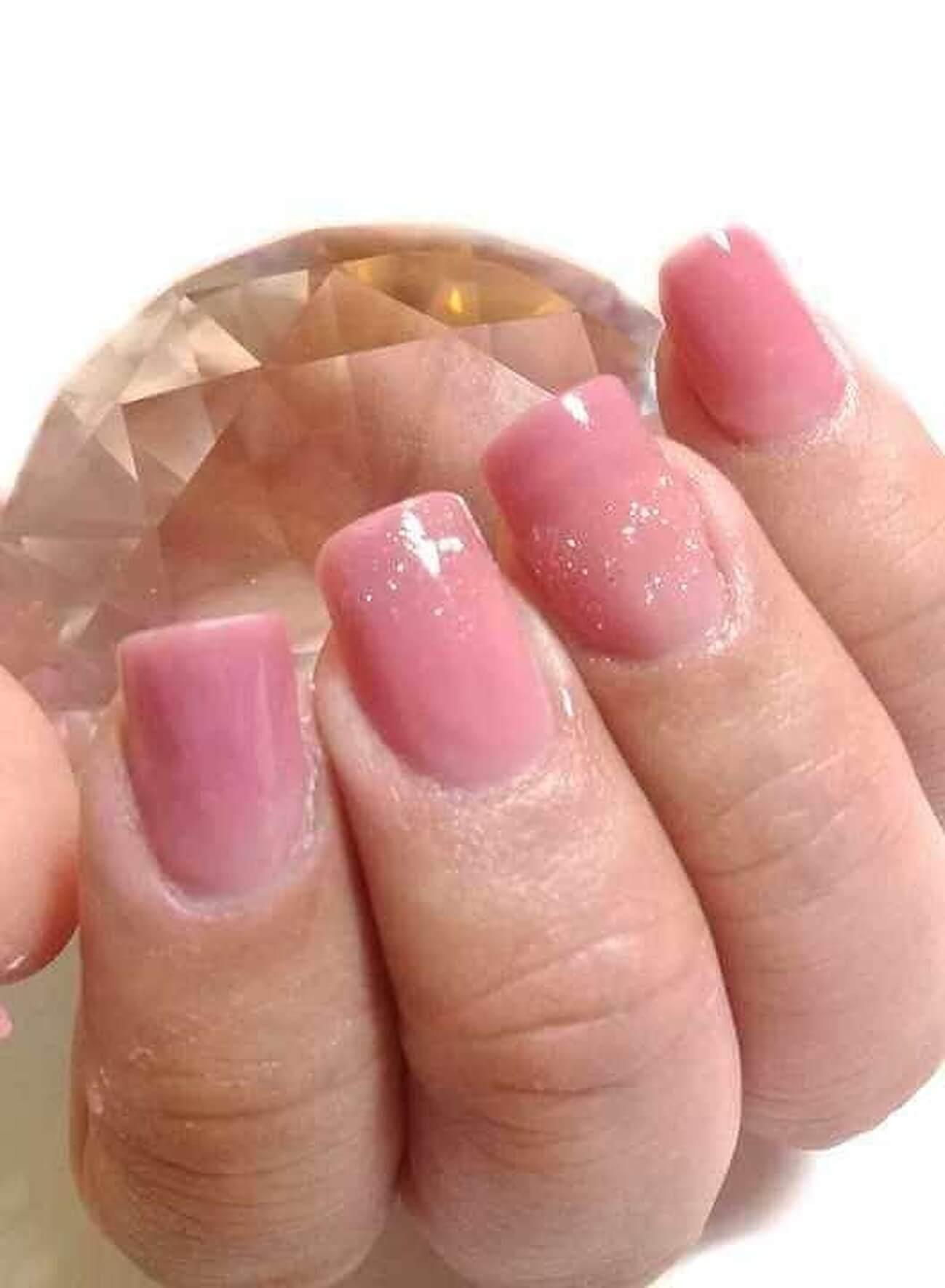 Pink quartz nails uñas acrilicas rosa cuarzo en Devoto Capital Federal ##.