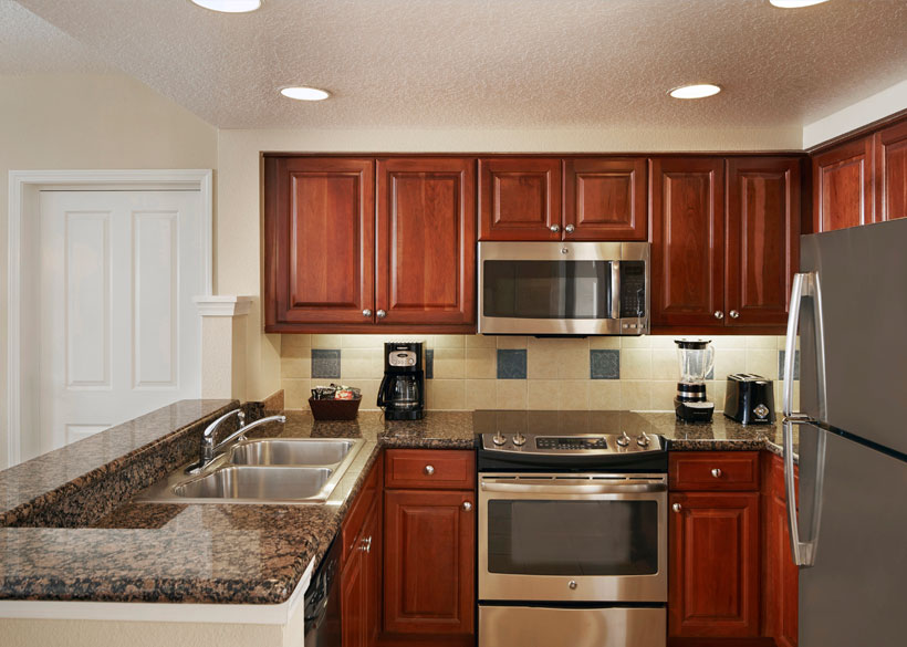 hotels with full kitchens in orlando florida vintage kitchen chairs hilton grand vacations at tuscany village hotel suite