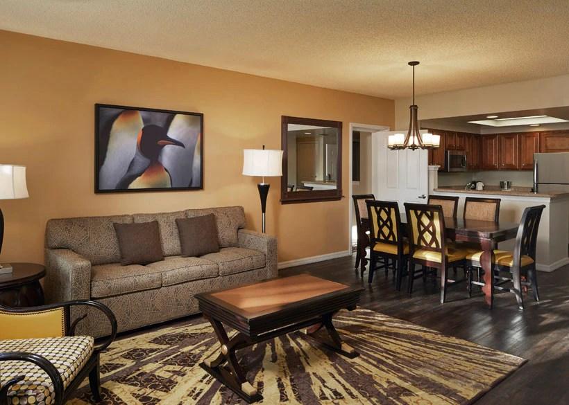 sleeper sofa miami fl vacuum storage bags hilton grand vacations at seaworld hotel in orlando, florida