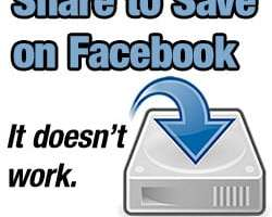 Facebook Share to Save