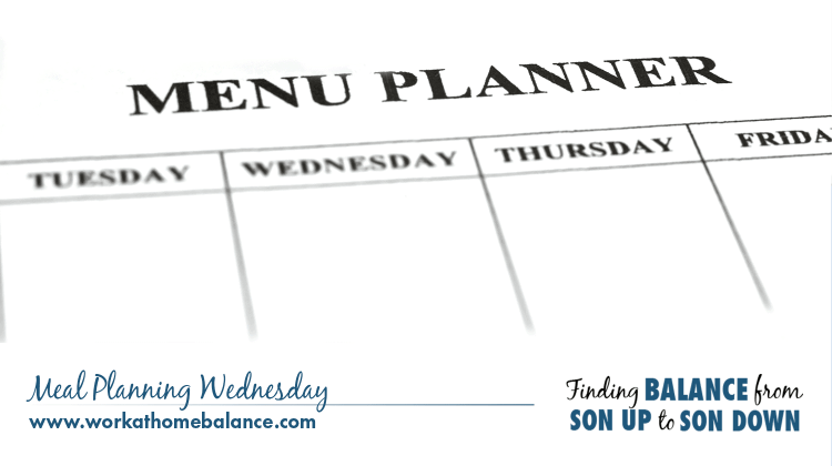 Meal Planning Wednesday