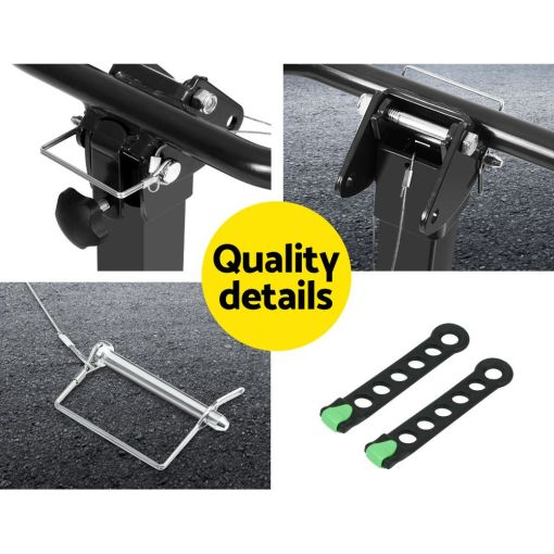 Tow Bar Bike Rack 4 Bicycle Carrier Mount Quality Design