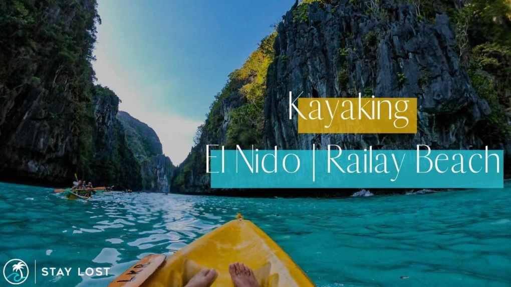 Kayaking | El Nido - Philippines & Railay Beach - Thailand | Stay Lost Blog Photo